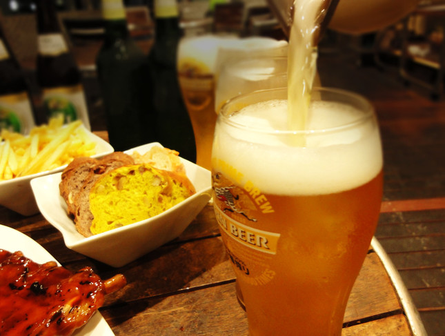4種のクラフトビールが飲み放題