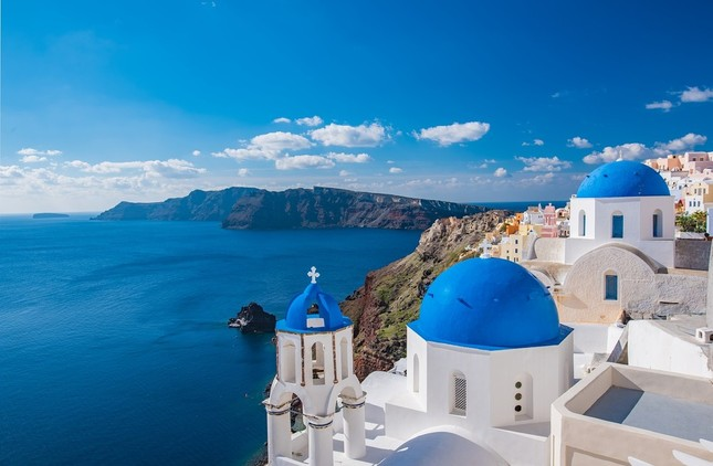 人気のギリシャ、サントリーニ島(写真はイメージ)
