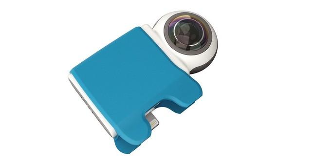 「MFi」取得済み、iPhoneで360度画像を楽しく撮影