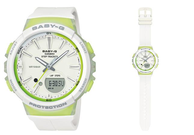BGS-100-7A2JF(ホワイト×ライムグリーン)
