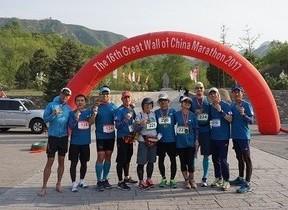 万里の長城マラソンに視覚障がいランナー 日本から2人出場し完走