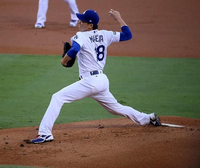 前田健太投手(Wikimedia Commonsから、作者:Arturo Pardavila IIIさん)