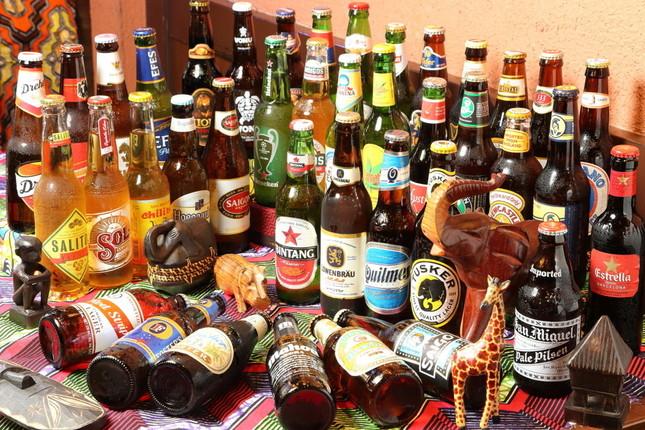 厳選40種類の世界のビール(イメージ)