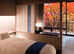 星野リゾート 界 鬼怒川で「紅葉ふたり占めプラン」 特別室でもみじ狩り