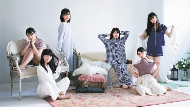 3期生選抜のパジャマ姿も