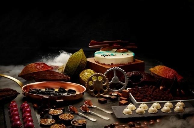 ノスタルジックなチョコ工場のイメージ