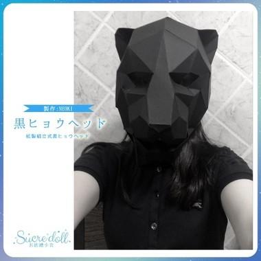 真っ黒な黒ヒョウヘッドキット