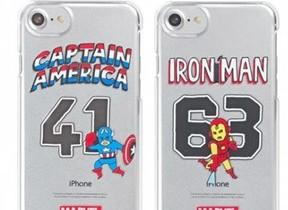 アメコミ「MARVEL」ヒーローが守る! iPhone兼用ケース