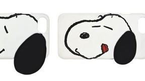 飛び出した「スヌーピー」の耳がふかふか かわいすぎるiPhone ケース