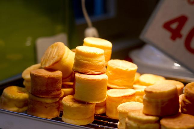 ふわふわのパンケーキ