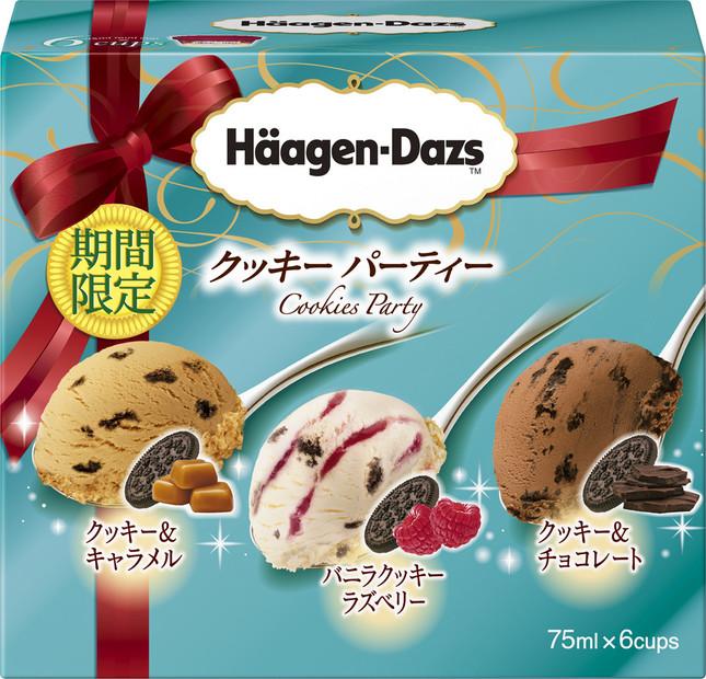 「ハーゲンダッツ ミニカップ・マルチパック 6個入り クッキーパーティー」