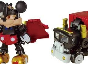 トランスフォーマーとミッキーがコラボ ミッキーロボがトレーラートラックに変形?