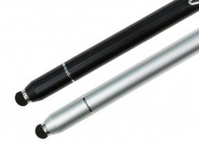 ノック式のペン先収納をシリーズ初搭載 スマホ用スタイラスペン