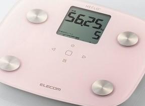 ペットや赤ちゃんの体重を測れるコンパクトな体組成計 エレコムから
