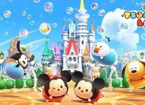 ディズニーのテーマパークを「ツムツム」で表現 ゲームアプリ「ディズニー ツムツムランド」事前登録開始