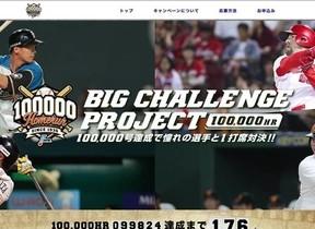 憧れのプロ野球選手と1打席対決! ホームラン数通算10万号記念に「夢企画」プレゼント