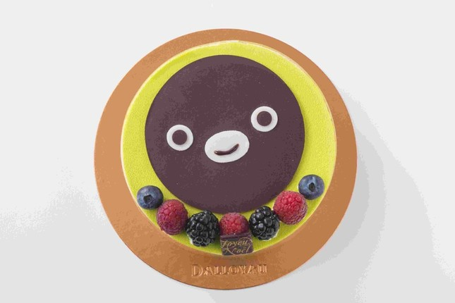 「Suicaのペンギン」のケーキ