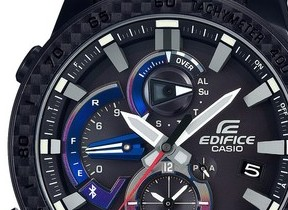カシオのメタルウォッチ「エディフィス」から、F1チーム「スクーデリア・トロ・ロッソ」コラボモデル第3弾