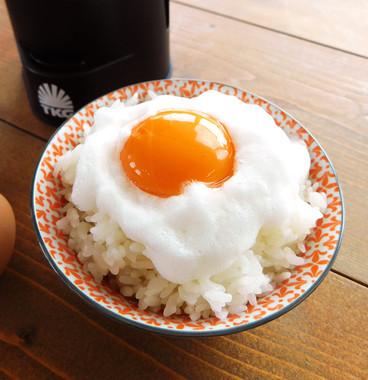 ふわふわ卵も簡単に作れるように