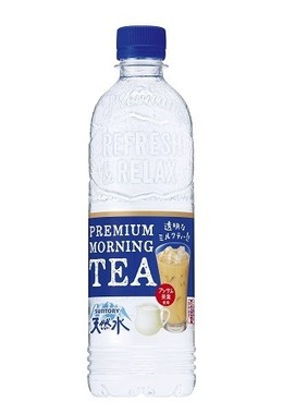 朝に飲みたいすっきり透明なミルクティー