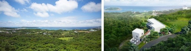 豊かな自然に囲まれたプライベート空間