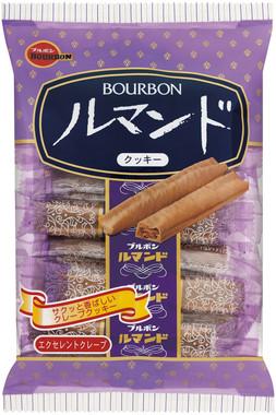 ブルボンのサクサク食感のクッキー「ルマンド」