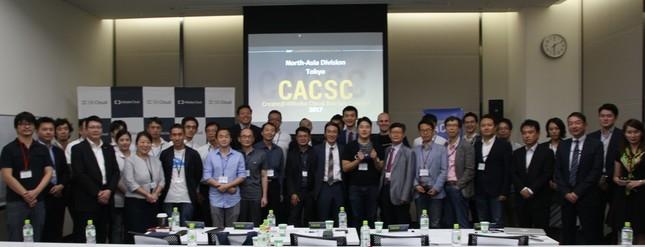 アジア各国のITベンチャーが一堂に会し、白熱したプレゼンを披露した。