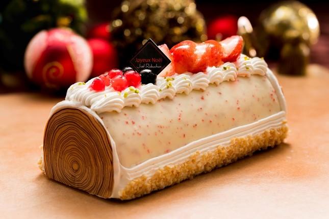 「ジョエル・ロブション ブッシュドノエル アイスケーキ ~ストロベリーの風味で~」