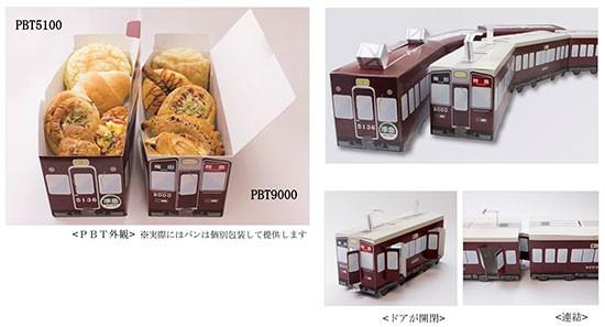 阪急電車をもとにした「PBT(Pan Box Train)5100・9000」