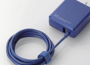 3.0Aの高出力、USB Type-Cコネクター搭載のAC充電器