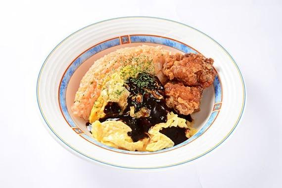 親子オムライス~日本食堂謹製デミグラスソース使用~