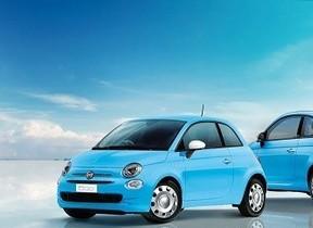 空色ボディに雲みたいなミラーカバー!「Fiat 500/500C CieloBlu」150台限定で発売