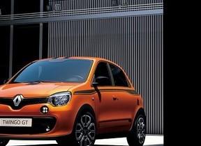 はじける火の粉をイメージさせるオレンジ色の限定車「新型ルノー トゥインゴ GT」発売
