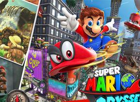 Nintendo Switch向け「スーパーマリオ オデッセイ」 マリオが敵やモノに憑依できる力を身に着けた!