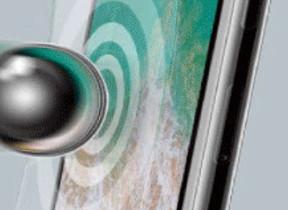 2つの素材でiPhone Xのガラスのフチまで衝撃から保護する液晶保護フィルム