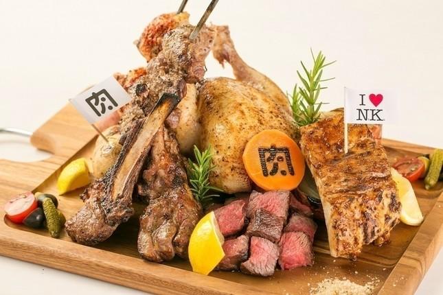 総重量2.9キロ!肉ソン肉肉肉盛り