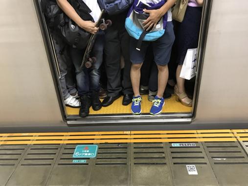 通勤電車でイライラすることとは…