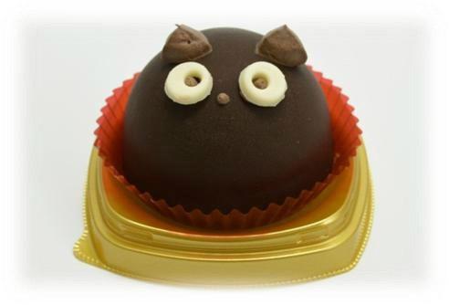 10月27日発売の「黒猫チョコケーキ」