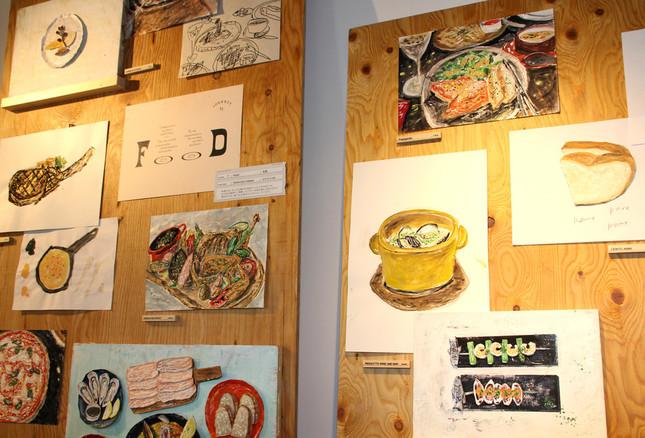 「FOOD」のイラスト