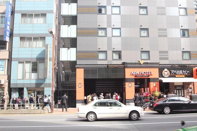 オープン当日、多数の客が行列を成した(写真提供:アパグループ)