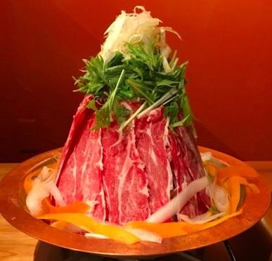 山盛りになっているラム肉