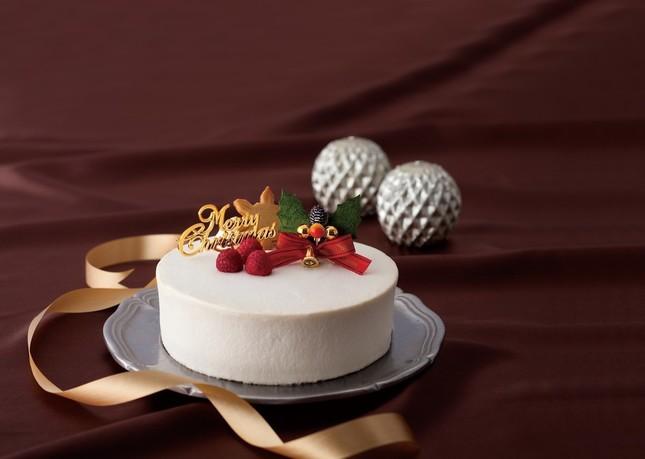 94%糖質オフのラズベリークリスマスケーキ
