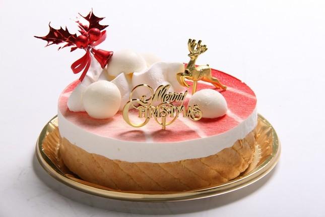 58%糖質オフのフランボワーズクリスマスケーキ