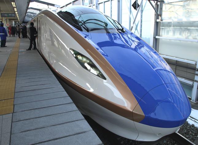 北陸新幹線(金沢~上越妙高間)も乗り放題に(写真は、2015年2月撮影)