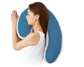 横向き寝姿勢をキープ。いびき改善に特化した枕