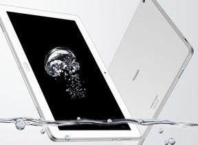 防水・防塵対応、ワンセグ/フルセグチューナー内蔵 10.1型タブレット「MediaPad M3 Lite 10 wp」