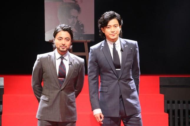 山田孝之さんと小栗旬さん