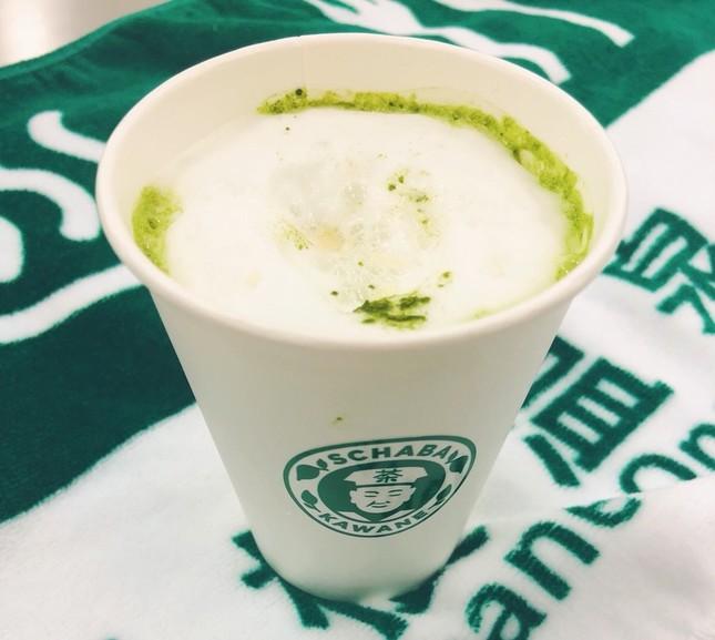 「スチャバ」の茶モカ