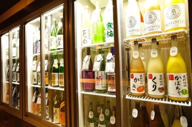 300種類のお酒が無制限で飲み放題