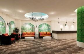 寝るだけではもったいない 花がテーマの「ホテルウィングインターナショナルセレクト名古屋栄」開業